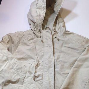Eddie Bauer women's XL RAIN COAT NWOT